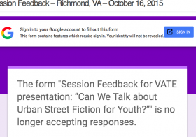 Session Feedback – Richmond, VA – October 16, 2015