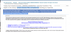 School Librarian-PSEL Competencies